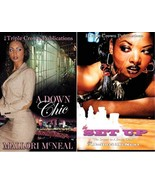 A DOWN CHIC Urban Fiction Series by Mallori McNeal LARGE TRADE Paperback... - $26.99