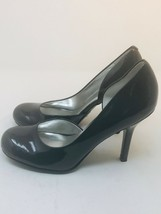 Jessica Simpson Women's Size  7.5 Gray Patent D'Orsay Pump Heels - $28.71