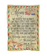 Love Airmail Mom Fleece Blanket From Children Mother's Day Mom Birthday ... - $52.62+
