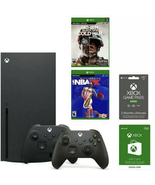 GameStop Bundle Xbox Series X Online Gaming System w/ 2 Games, Game Pass... - $1,139.98