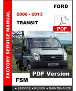 FORD TRANSIT 2006 2007 2008 2009 2010 2011 2012 2013 FACTORY WORKSHOP MA... - $14.95