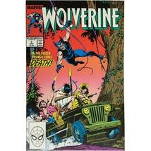 Wolverine #5 Near Mint High Grade Marvel Comics 1989 John Bolton Pin Up - $19.99