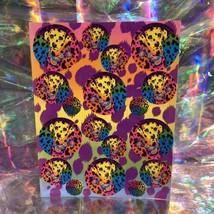 SWEET Vintage Lisa Frank Rainbow Dalmatian S210 Early 90s Sticker Sheet RARE HTF
