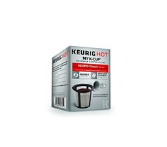 Keurig My K-Cup Reusable Ground Coffee Filter, Compatible with All  1.0/... - $10.57