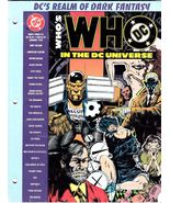 DC Comics Who's Who in the DC Universe # 15 (Jan.1992) - $5.50