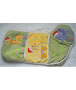 Seasonal Specialties ABC Baby Christmas Stocking With Animals & Pockets ... - $9.99
