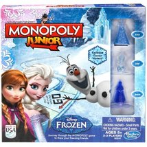 Monopoly Junior Game Frozen Edition NEW FREE SH... - $23.95