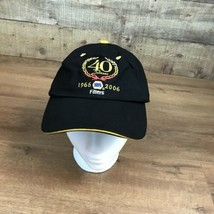 Napa Filters 40 Years Adjustable Hat Baseball Cap Black Embroidered Gold  - £12.61 GBP