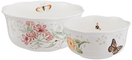 Lenox Butterfly Meadow Nesting Bowls, Set of 2 (Nesting Bowls, Set of 2) - $67.73