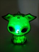 Watzit Electrocutie Green Light Pet Mattel Monster High Gold Dog Tested ... - $9.45