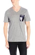 Calvin Klein Men's Pocket T-Shirt  , Meduim Gray, Size S, MSRP $45 - $19.79