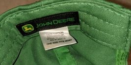 John Deere LP16930 Green Adjustable BaseBall Cap With Leaping Deer Logo image 8
