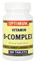 Optimum Vitamin B Complex Dietary Supplement Tablet 100 ct - $9.30