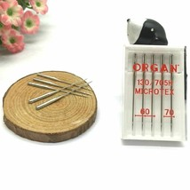 Organ Needle Domestic Sewing Machine Parts Specially Good For Microfabri... - $12.86