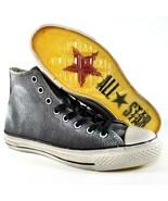 Converse CTAS X John Varvatos White Wash Hi Shoes Size 8 Mens Grey White - $93.49