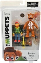 Diamond Select Toys The Muppets: Fozzie & Scooter Series 1 Action Figure... - $18.59