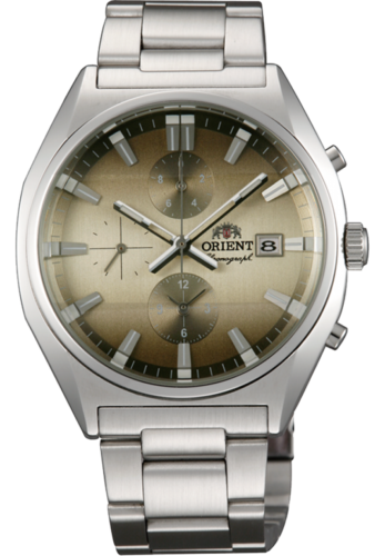 ORIENT NEO 70'S CHRONOGRAPH FTT10002C0 Champagne Dial Watch Focus - $102.90