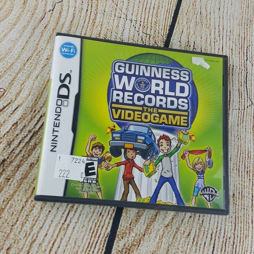 Nintendo DS Guinness World Records The Video Game Complete