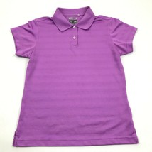 Adidas ClimaCOOL Golf Polo Shirt Size Small S Lavender Purple Dry Fit Co... - $12.48