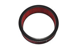 "HIGH FLOW WASHABLE & REUSABLE ROUND AIR FILTER ELEMENT REPLACEMENT 14"" X 4"" RED image 4"