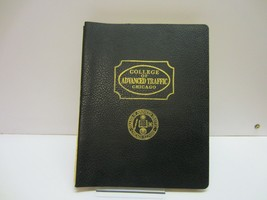 Vtg Chicago College of Advanced Traffic Trucking Freight Test School Book - $15.99