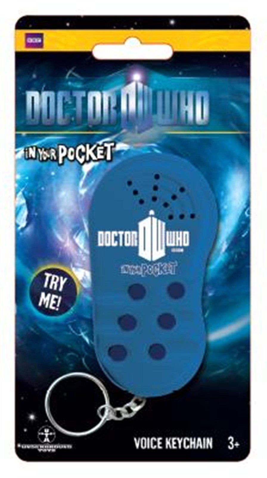 Licensed Doctor Who In Your Pocket Voice Keychain New in Original Retail Package