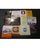 Matchbooks Lot of 12 Mr. F's Chicago Playboy Lion & Ram Holiday Inn & more  - $4.89