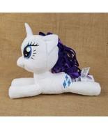 My Little Pony Rarity unicorn plush Hasbro 2015 white/purple toy collect... - $17.77