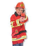 Fireman Role Play Costume Set 3-6 Years - $30.00