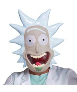Rick Mask Adult Rick and Morty Animated Halloween Party Funny Unique LF9... - $38.99