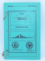 Soviet Navy Surface Combatants Ship Helicopter Identifier Guide Book 198... - $29.69