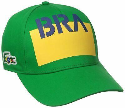 Lacoste Men's Premium Cotton Crocodile Baseball Adjustable Hat Cap Brazil