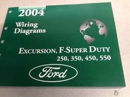 2004 Ford EXCURSION F-250 F350 F250 450 550 Wiring Electrical DIAGRAM Ma... - $118.75