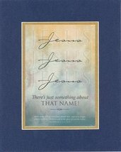 Jesus, Jesus, Jesus There's something about that name . . . 8 x 10 Inches Biblic - $11.14