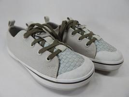 Keen Canvas Oxford Size 7 M (B) EU 37.5 Women's Casual Shoes Beige / Gray