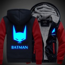 Hot for fall/winter and cashmere thick cool luminous Batman men's jackets - $61.20