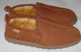 Tamarac Cody 8014MW Mens 10 W Sheepskin Slippers Shoes Allspice 10W NEW - $48.61 CAD