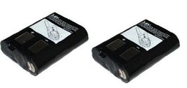 2x Ni-MH 3.6V 700mAh Battery For Motorola 2-Way Radios KEBT-086-B 3XCAAA... - $32.33