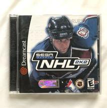 ⭐ NHL 2K2 (Sega Dreamcast 2002) COMPLETE in Box Game Manual Tested Works ⭐ - $42.78 CAD