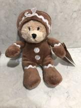 Ganz Wee Bears - Gingerbread Man Bear Stuffed Animal, 6 Inch A12 - $11.95