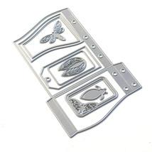 Sidekick Essentials 18 Wave Pocket Die Set.. Elizabeth Craft Designs. #1840