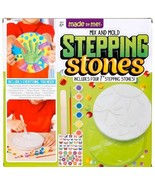 Stepping Stone Kit Mix And Mold Made by Me Novelty Craft Art Project Kid... - $18.69