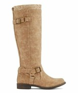 Justfab Talisa Taupe Knee High Boots Women SIZE 7 & 9 NEW IN BOX!!! - $79.95