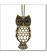 Avon Wise Owl Necklace and Pin - $17.99