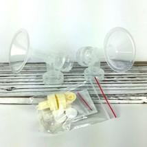 Nenesupply Breastpump Kit for Medela BPA Free Sz S 21mm Flanges Valve Me... - $16.14
