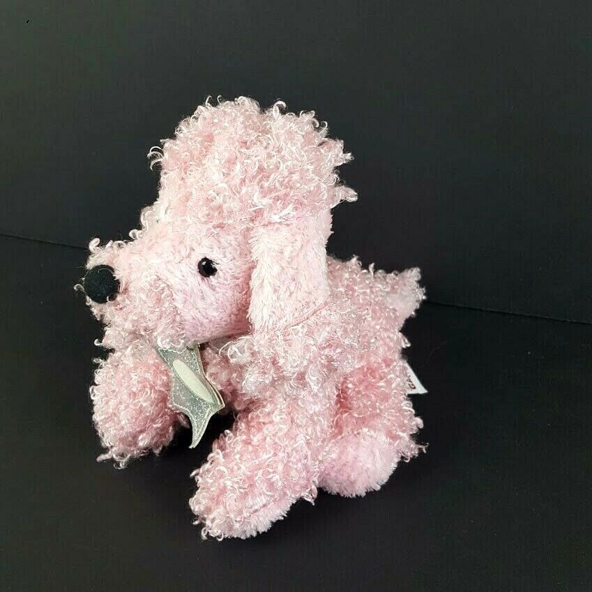 Primary image for Ganz Webkinz Pink Poodle Dog Plush No Code HM107 Stuffed Animal Puppy #A33