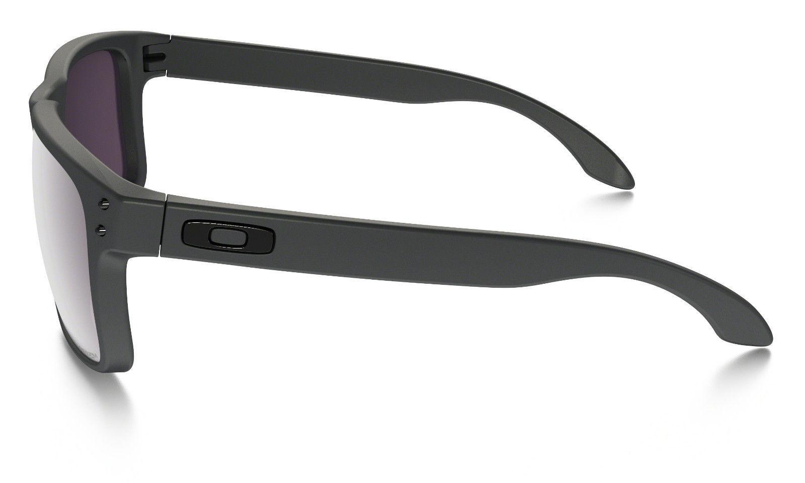 Neu Oakley Holbrook Stahl mit / Prisma Täglich Polarisierend 9102-B5