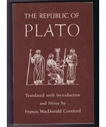 ORIGINAL Vintage 1971 Republic of Plato Paperback Book Francis M Cornford - $19.79