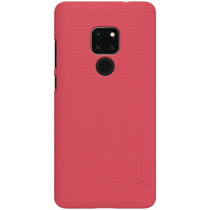 Huawei Mate 20 X Case Pro Frosted Hard Plastic Back Gift