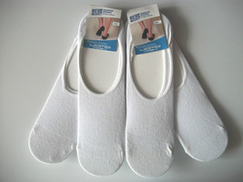 Calcetines Invisibles Hombres Mujeres Algodón Blanco UK2-5 EU34-37 4 Pares - $11.38